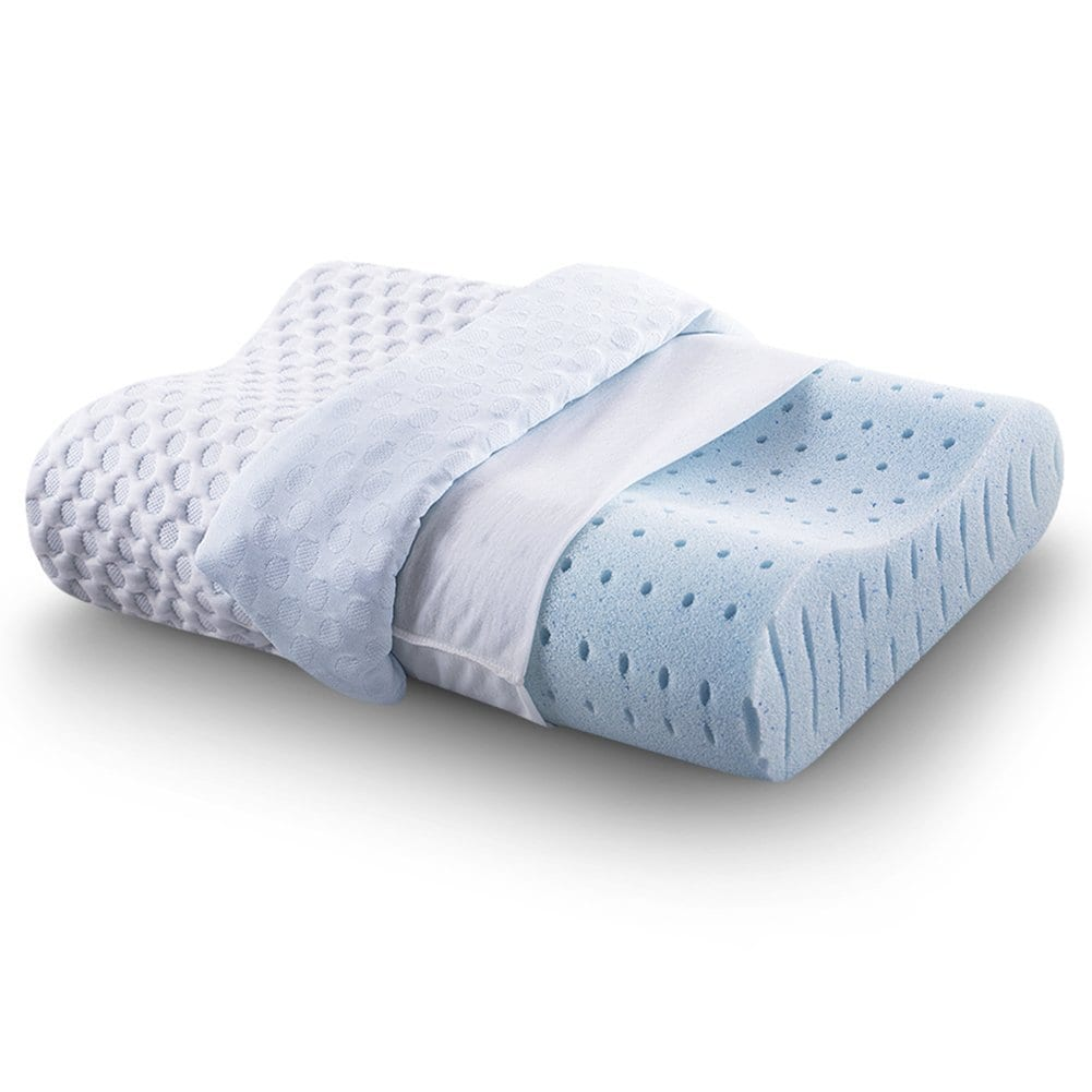 CR COMFORT & RELAX The Best Memory Foam Pillow Review by www.dailysleep.org