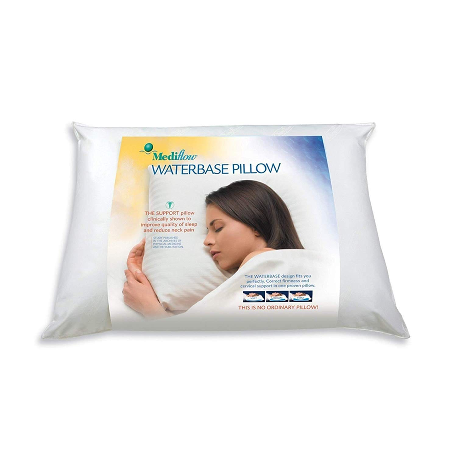 Mediflow best pillow for neck pain review by www.dailysleep.org