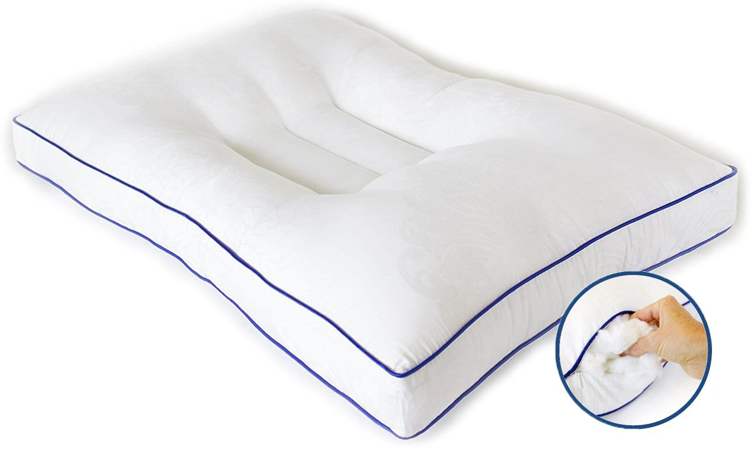 Nature's Guest best pillow for neck pain review by www.dailysleep.org