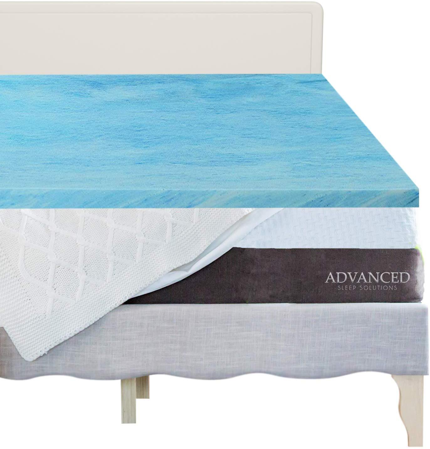 Advanced Sleep Solutions best memory foam mattress topper review by www.dailysleep.org