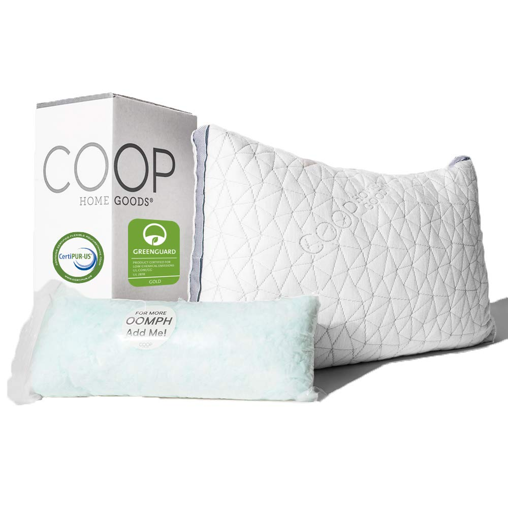 Coop Home Goods sleep apnea pillow review by www.dailysleep.org