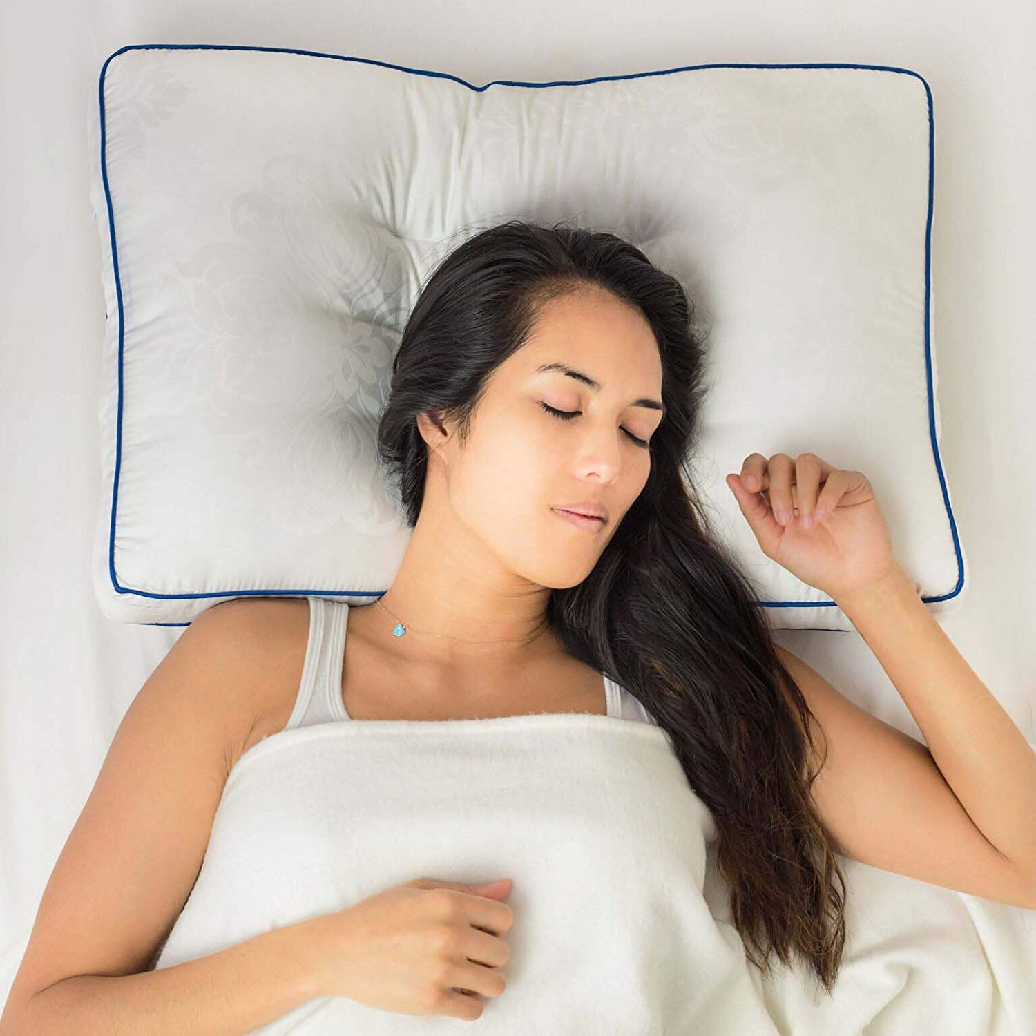 Nature's Guest best pillow for back sleepers review by www.dailysleep.org