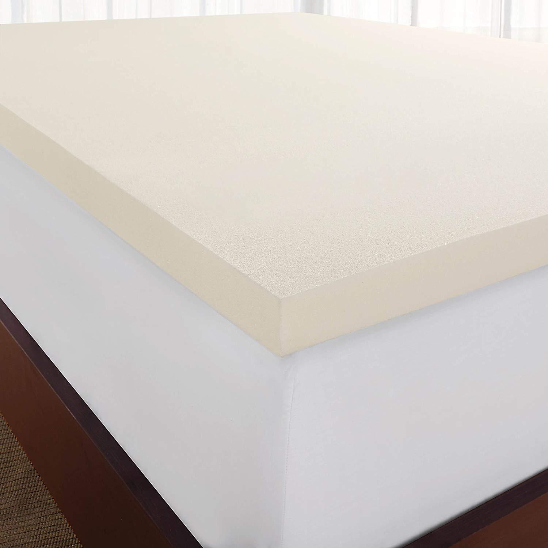 Sleep Innovations best memory foam mattress topper review by www.dailysleep.org