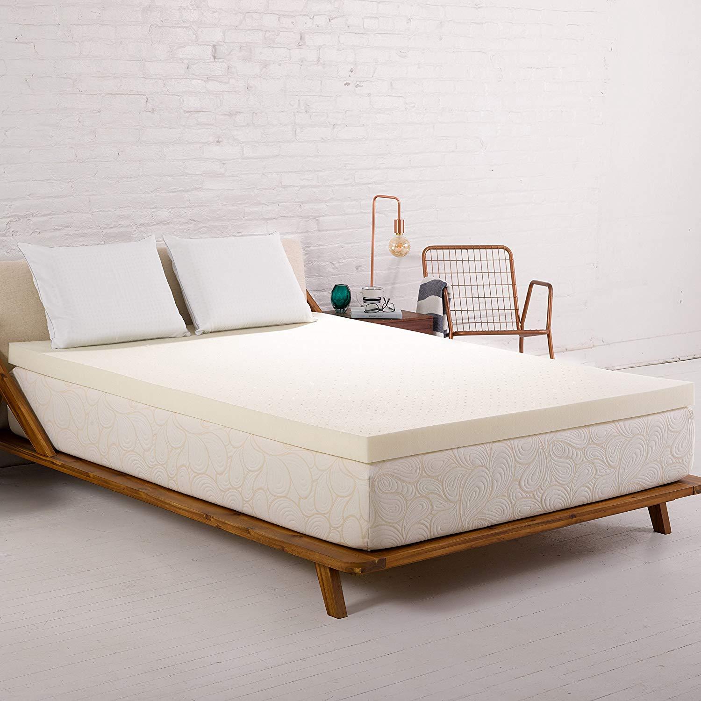 SleepJoy best memory foam mattress topper review by www.dailysleep.org