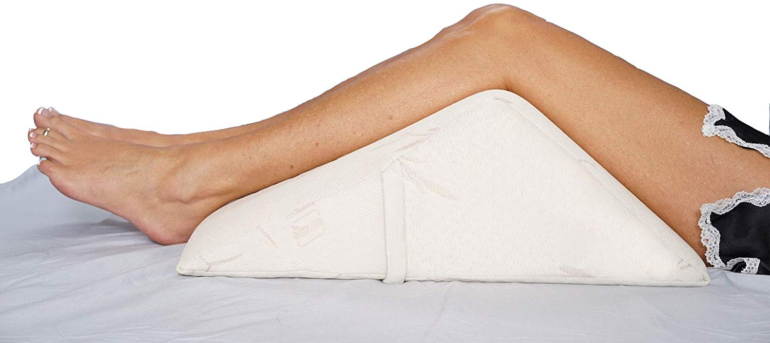 The Angle by Back Support Systems Best Leg Pillow review by www.dailysleep.org