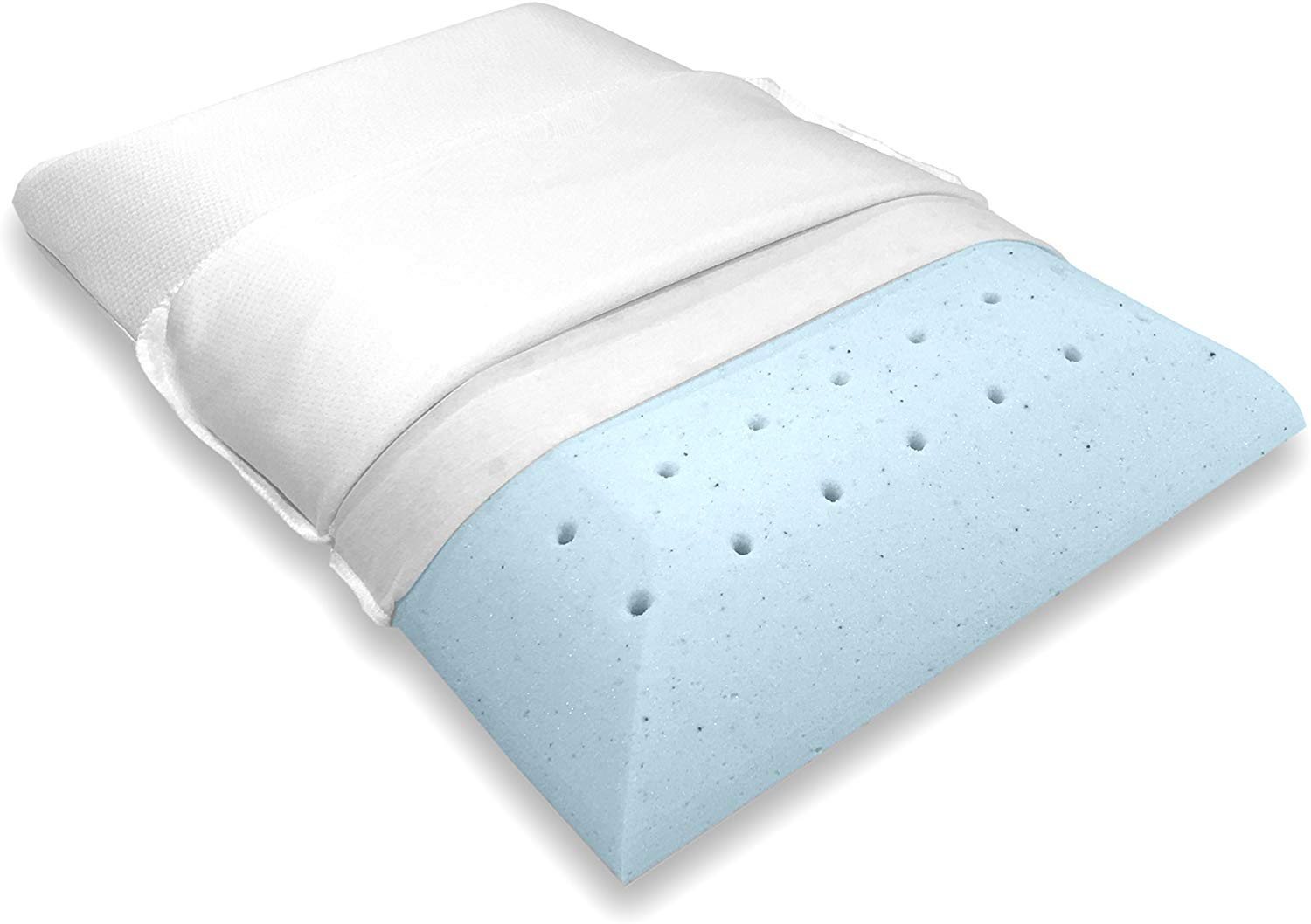 Bluewave Bedding Best Flat Pillow review by www.dailysleep.org