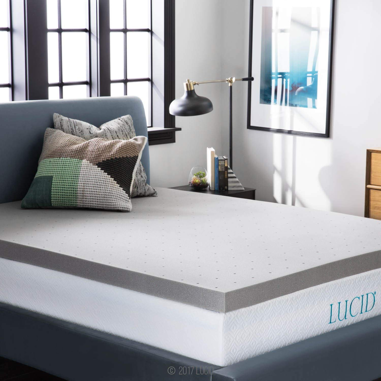 LUCID best cooling mattress pad review and buying guide by www.dailysleep.org
