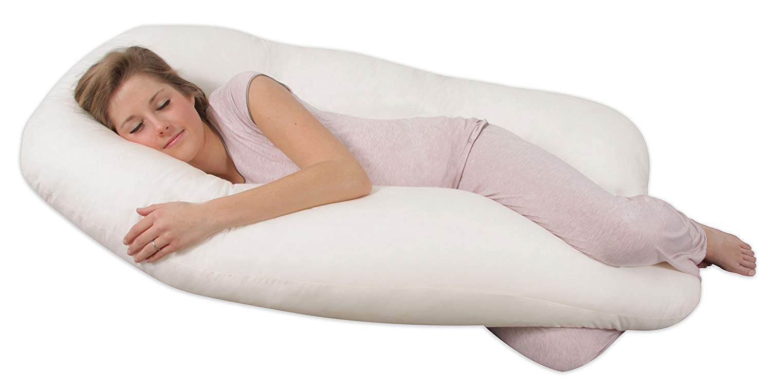Leachco Back 'N Belly best pregnancy pillow review by www.dailysleep.org