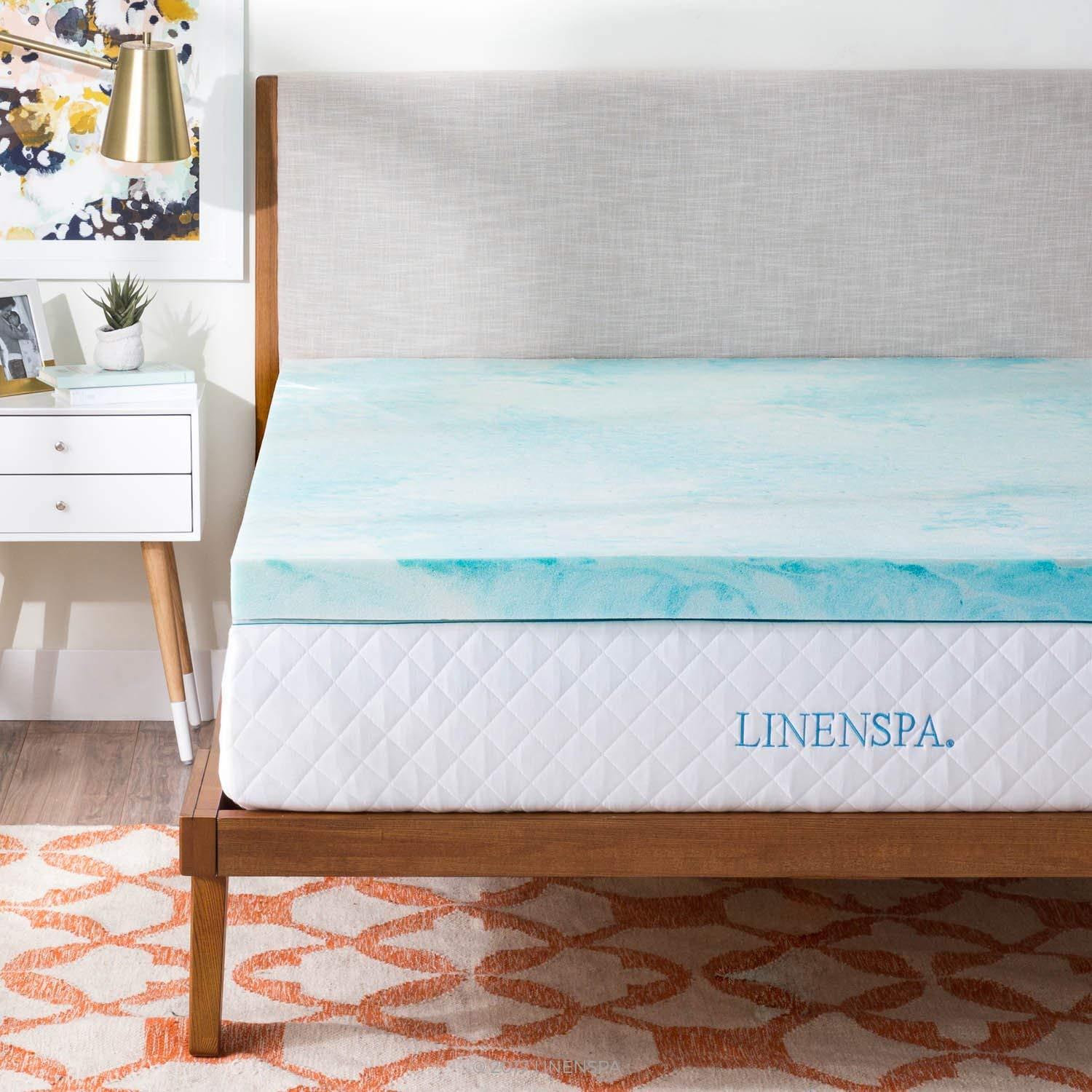 Linenspa Best Mattress Topper for Side Sleepers review by www.dailysleep.org