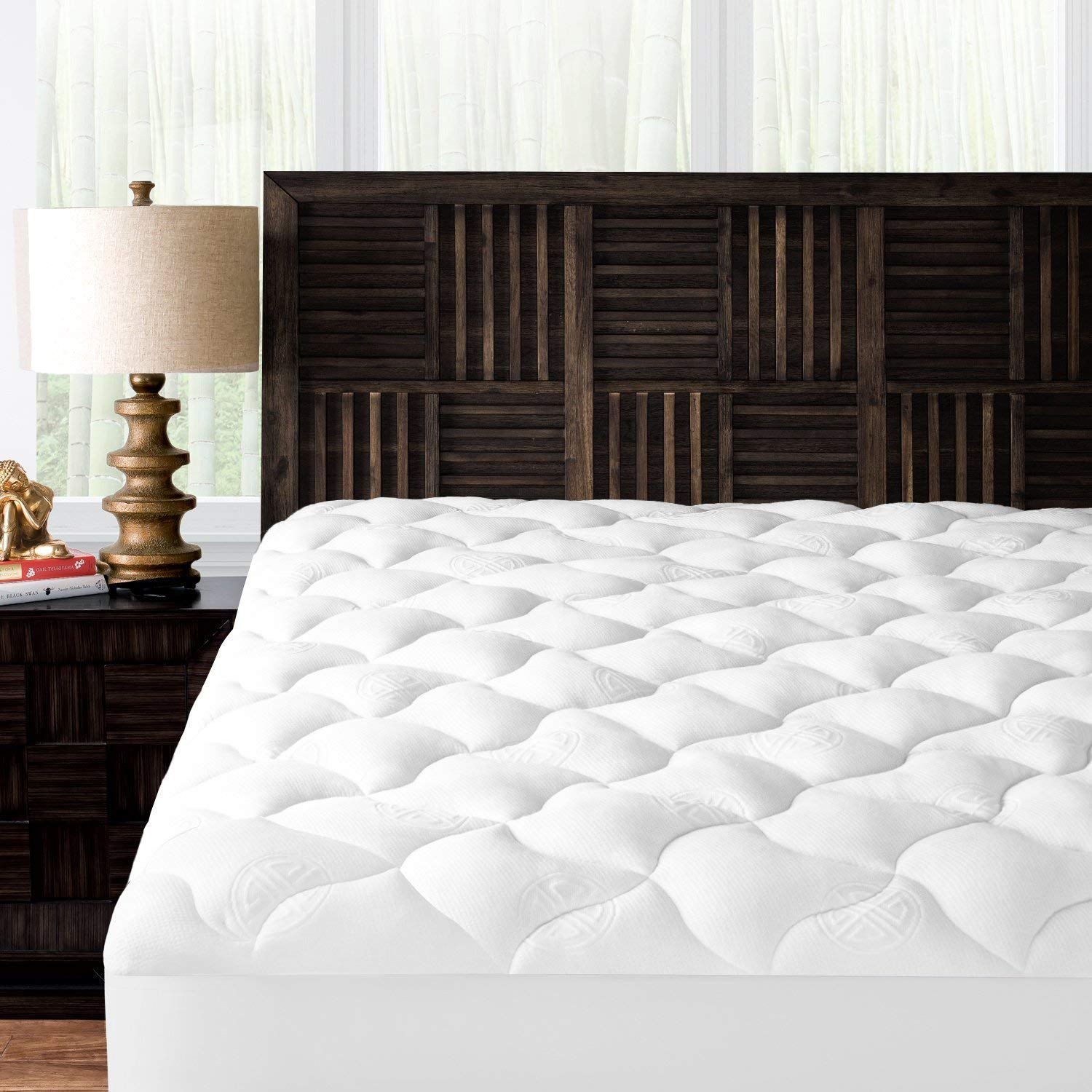Mandarin Home Collection bamboo mattress topper review by www.dailysleep.org