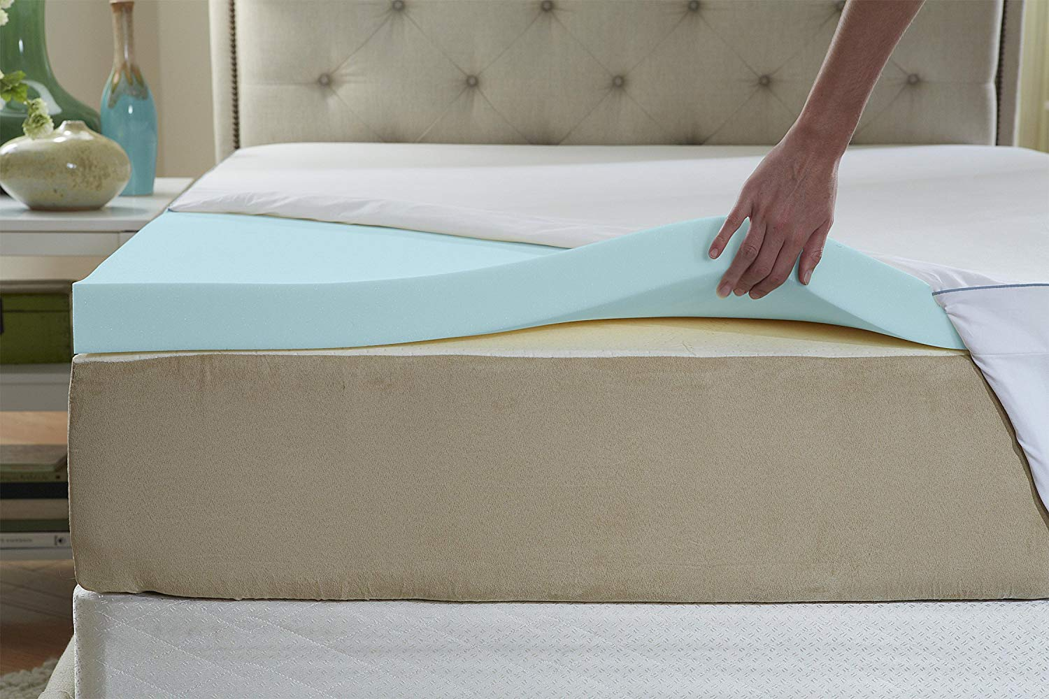 Natures Sleep best cooling mattress padreview and buying guide by www.dailysleep.org