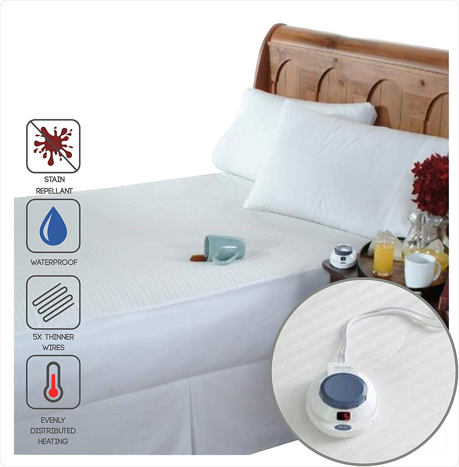 Perfect Fit best heated mattress pad review by www.dailysleep.org