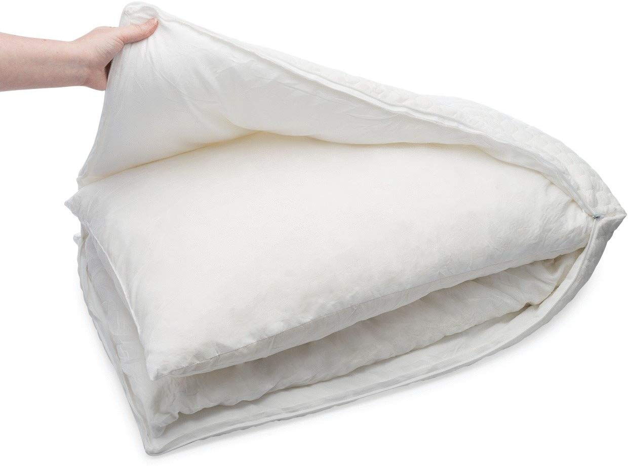 Simply Sova shredded memory foam pillow review and buying guide by www.dailysleep.org