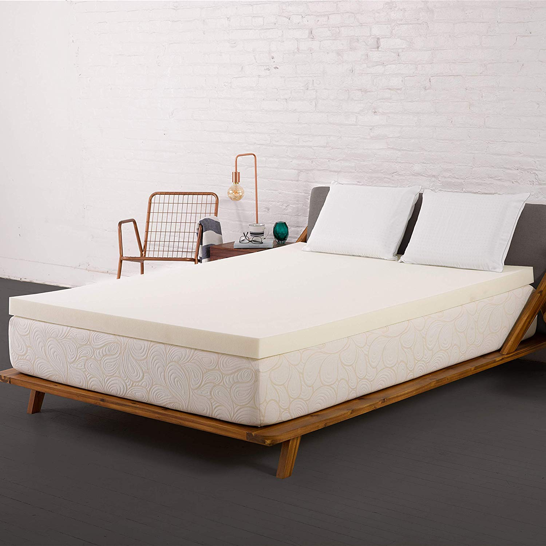 SleepJoy Best Mattress Topper for Side Sleepers review by www.dailysleep.org