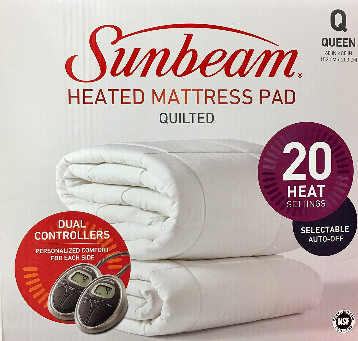 Sunbeam All Season best heated mattress pad review by www.dailysleep.org