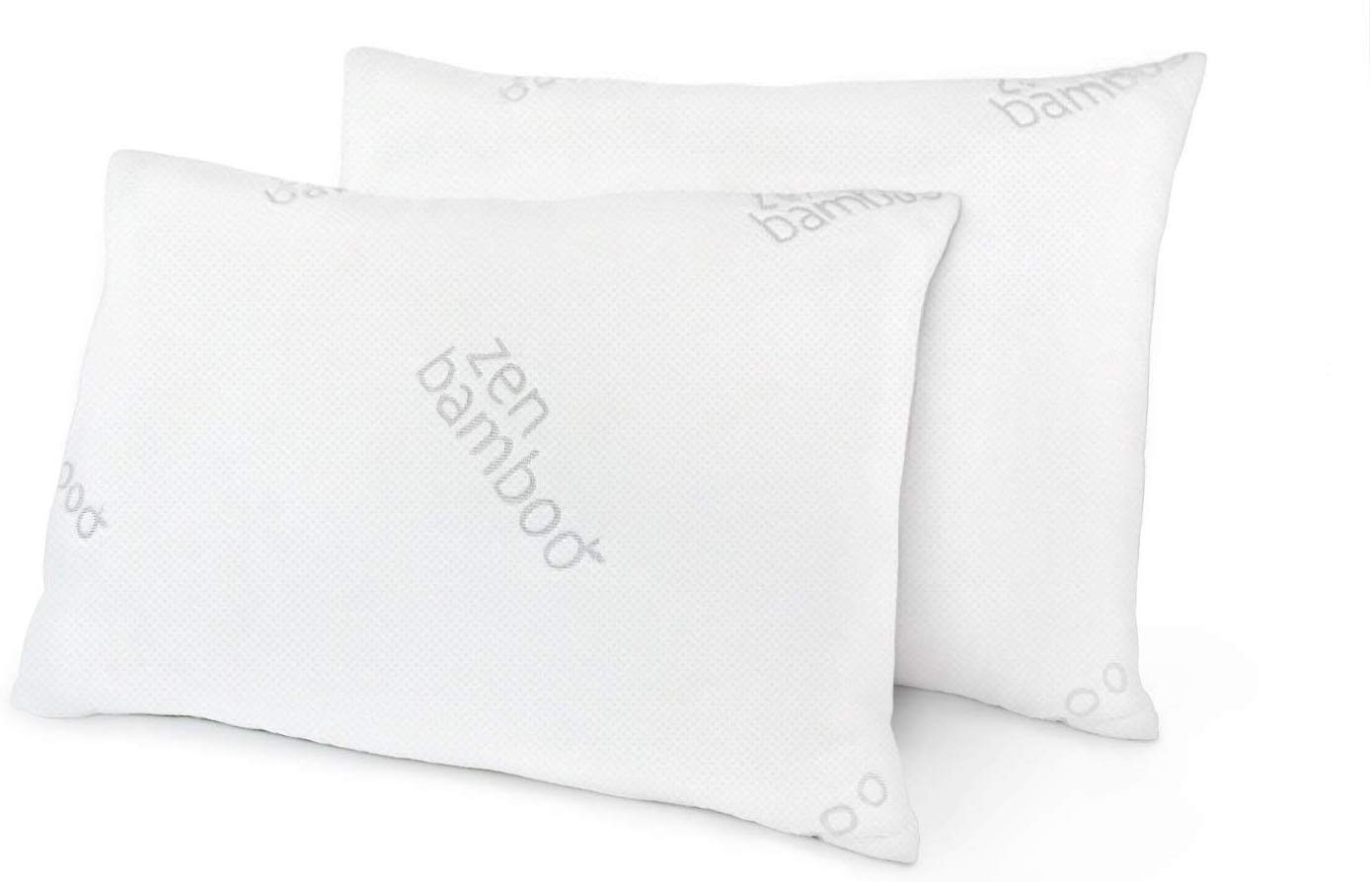Zen Bamboo best cooling pillow review by www.dailysleep.org