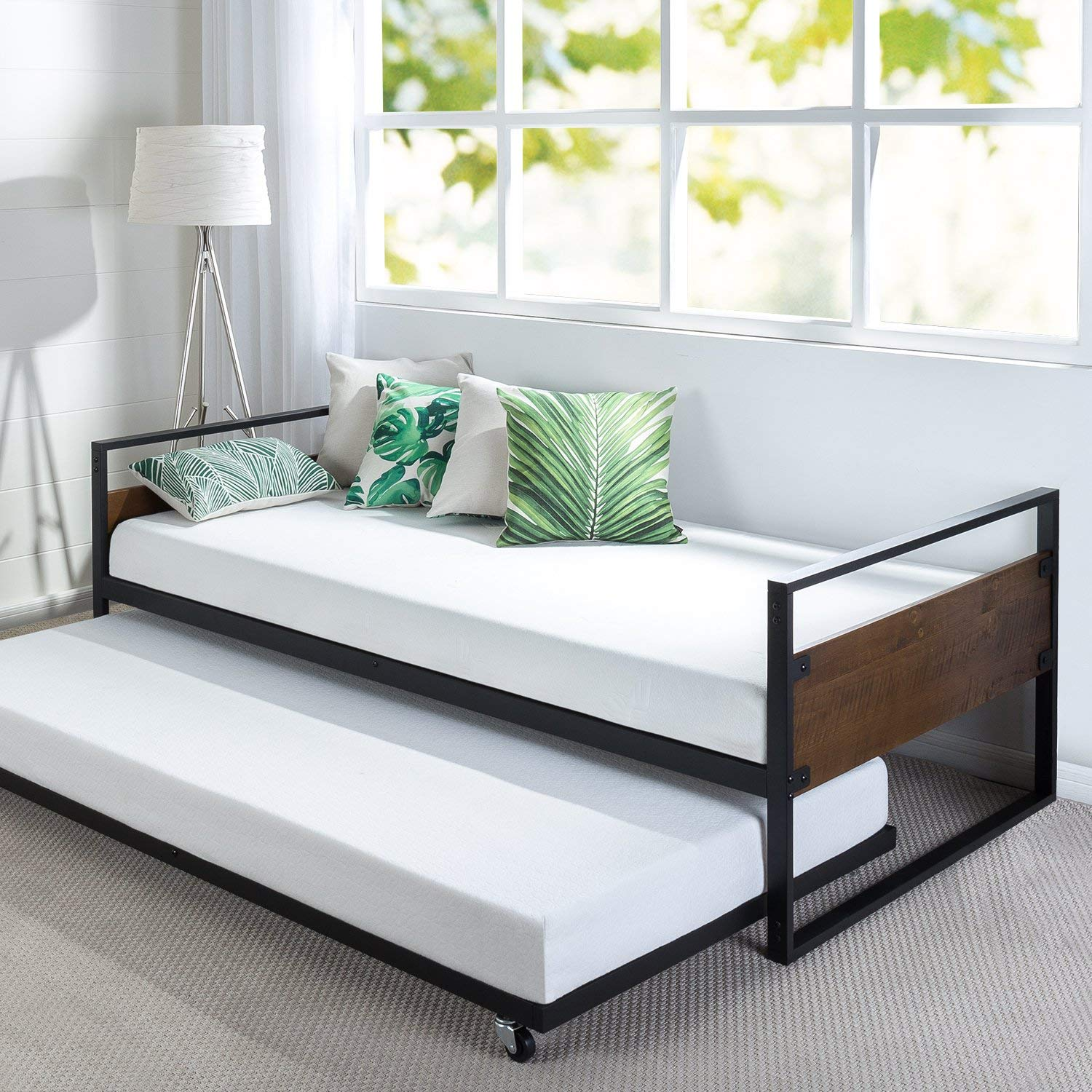 Zinus Suzanne Best Trundle Bed review by www.dailysleep.org