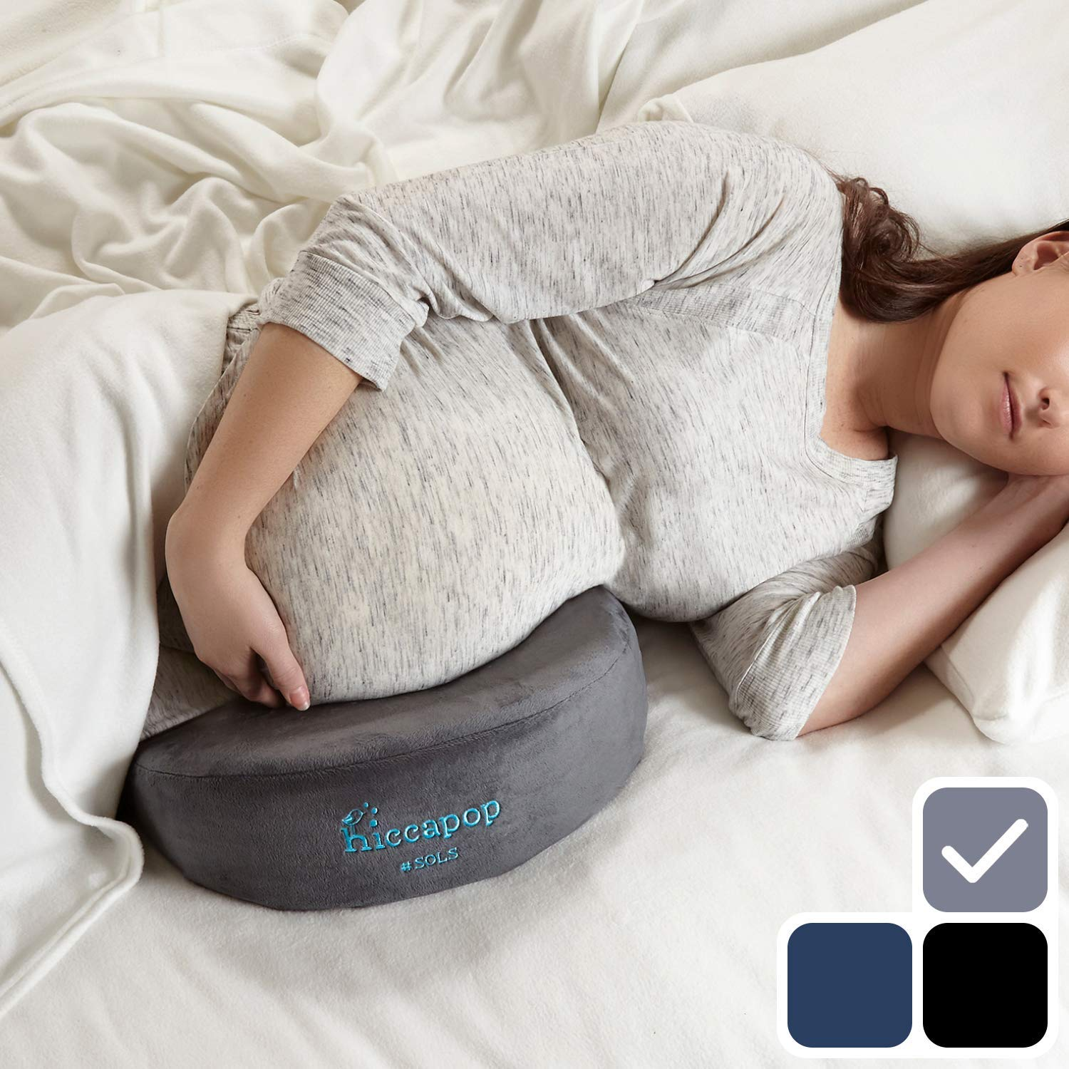 hiccapop best pregnancy pillow review by www.dailysleep.org