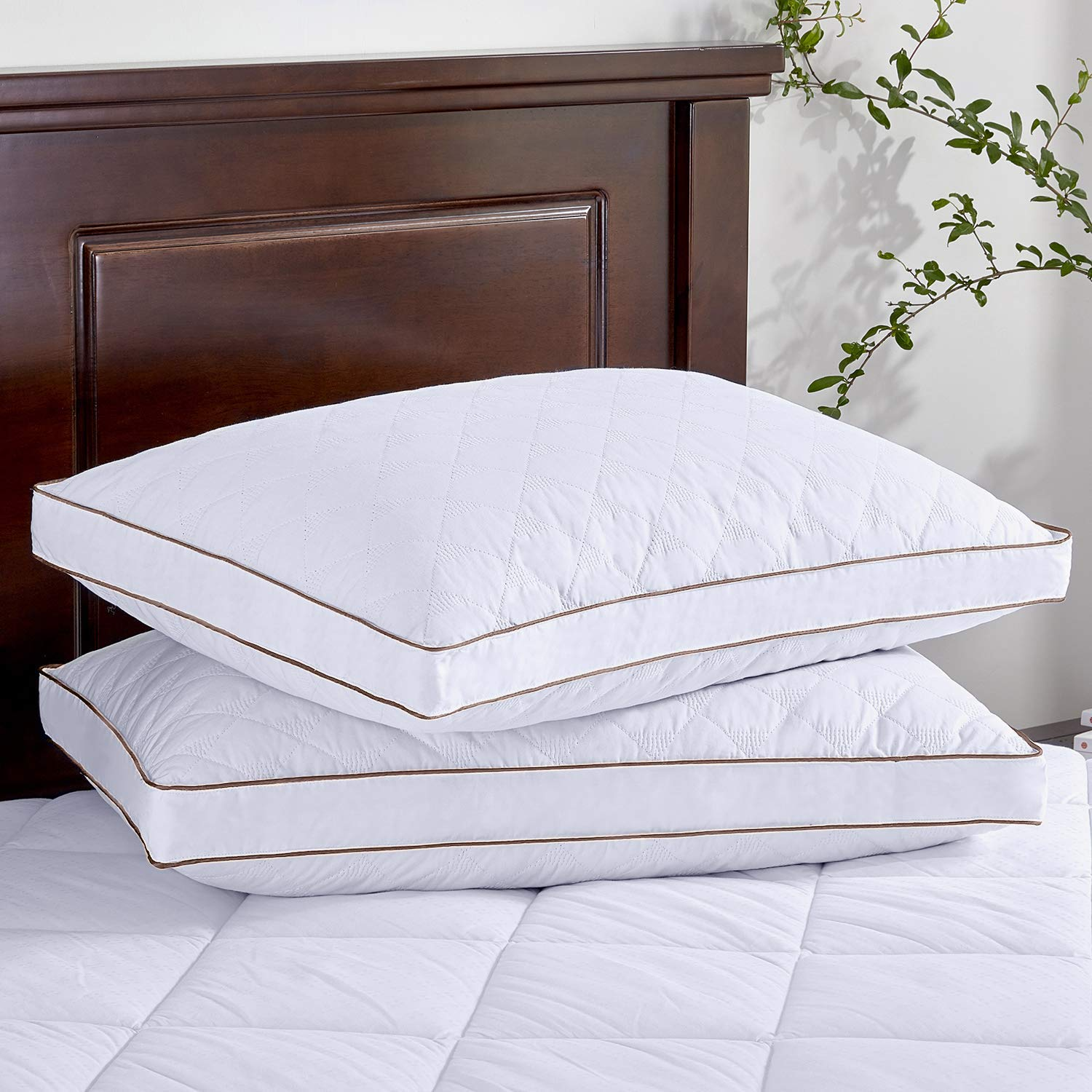 puredown® best feather pillows review by www.dailysleep.org