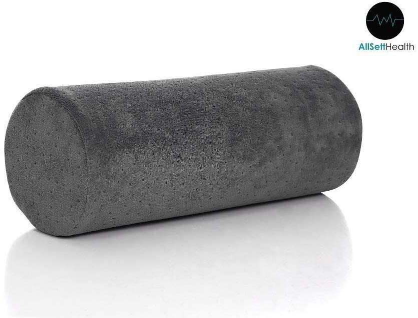 AllSett Health Best Neck Roll Pillow review by www.dailysleep.org