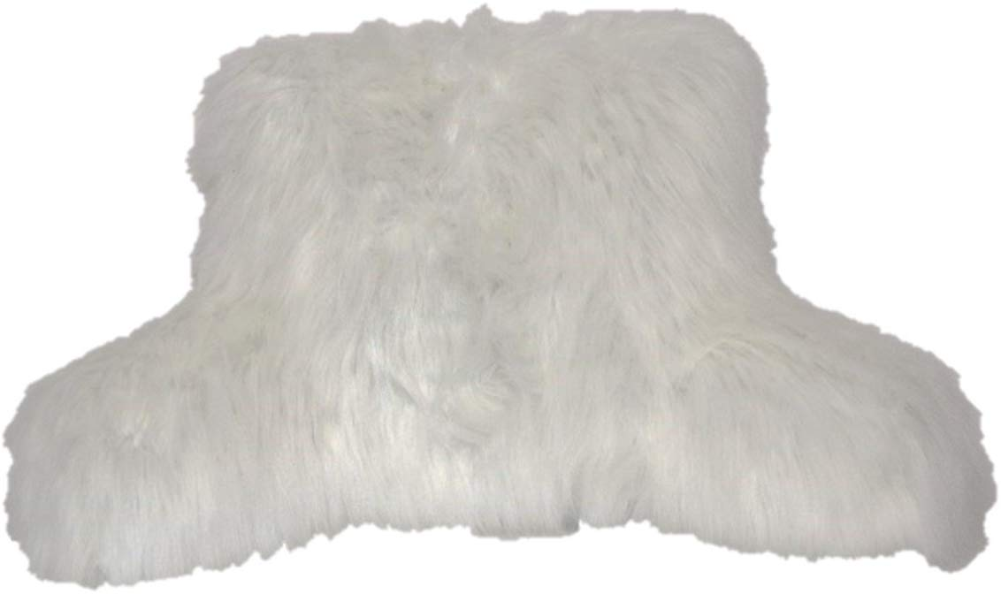 Brentwood Originals Angora Fur Best Reading Pillow review by www.dailysleep.org