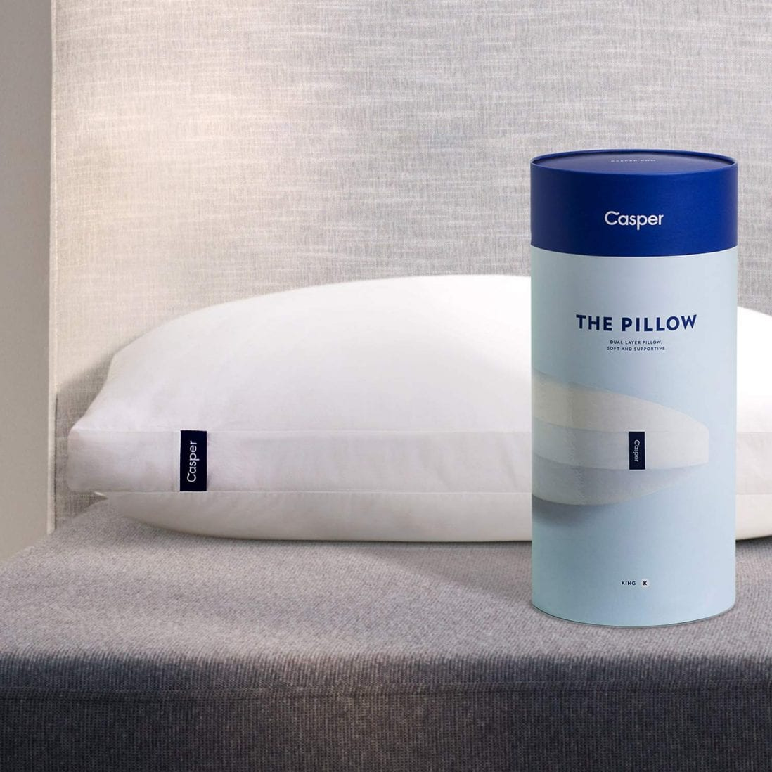 Casper Sleep most comfortable pillow review by www.dailysleep.org