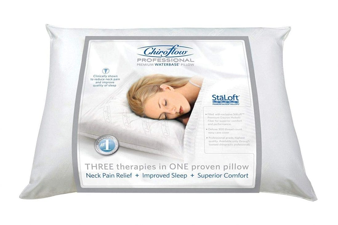 Chiroflow Waterbase Waterpillow review by www.dailysleep.org