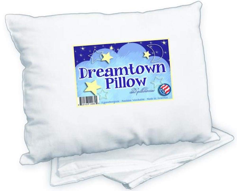 Dreamtown Kids Best Hypoallergenic Pillows review by www.dailysleep.org