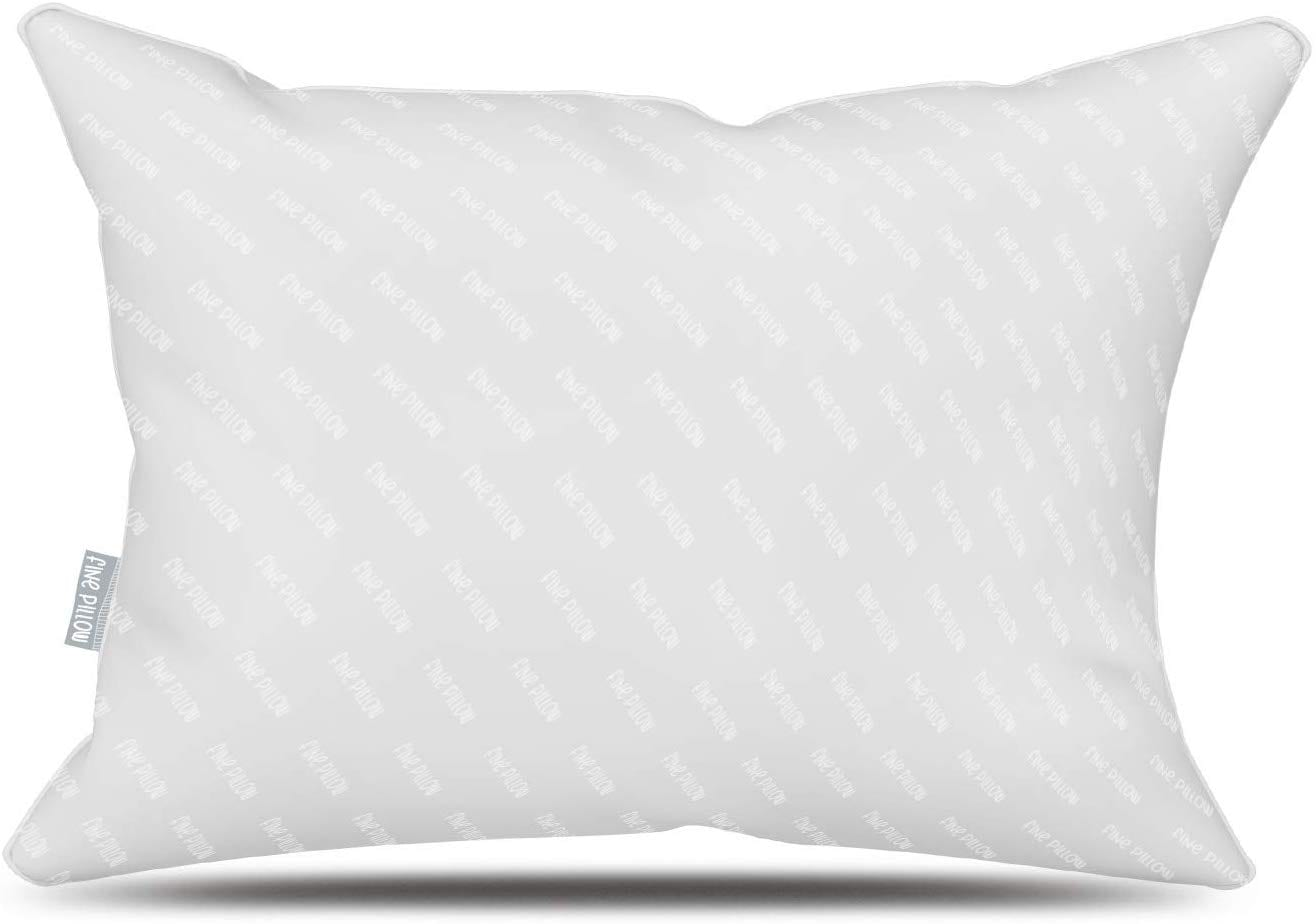 Fine Pillow best pillows for back pain review by www.dailysleep.org