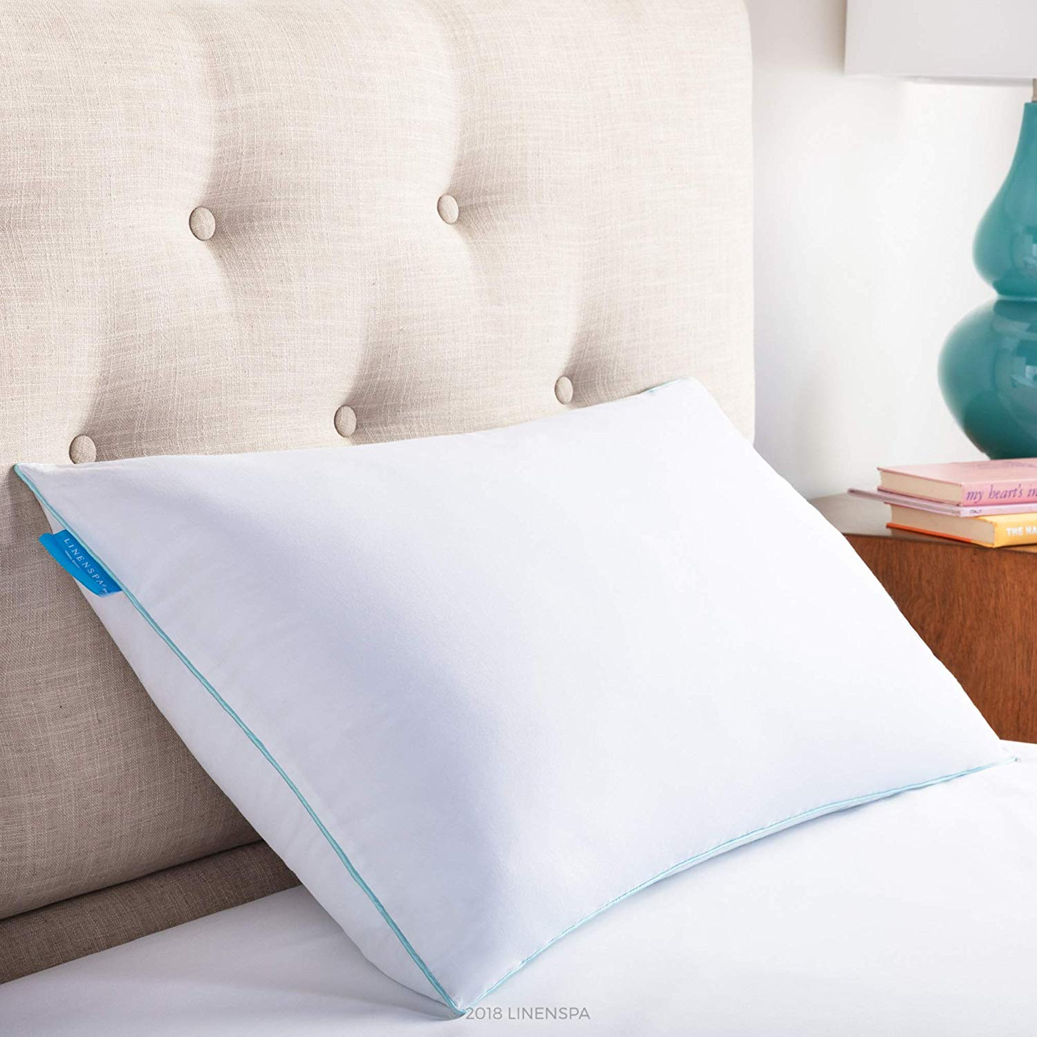 LinenSpa Cool Gel Pillow review by www.dailysleep.org