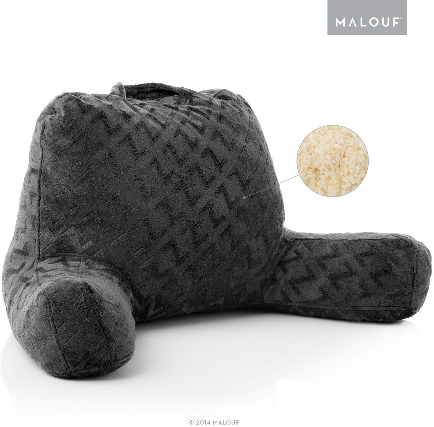 MALOUF Z Best Reading Pillow review by www.dailysleep.org