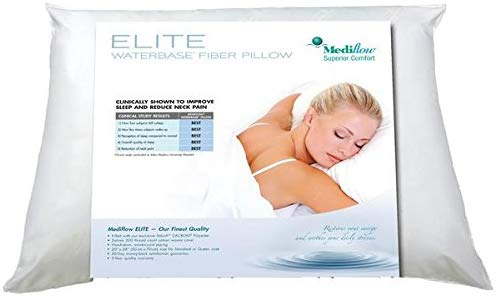 Mediflow 1066 Elite Fiberfill Water Pillow review by www.dailysleep.org