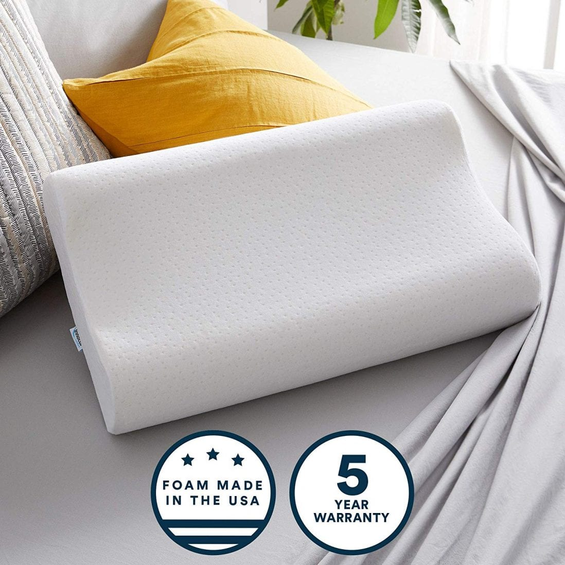 Sleep Innovations Best Hypoallergenic Pillows review by www.dailysleep.org