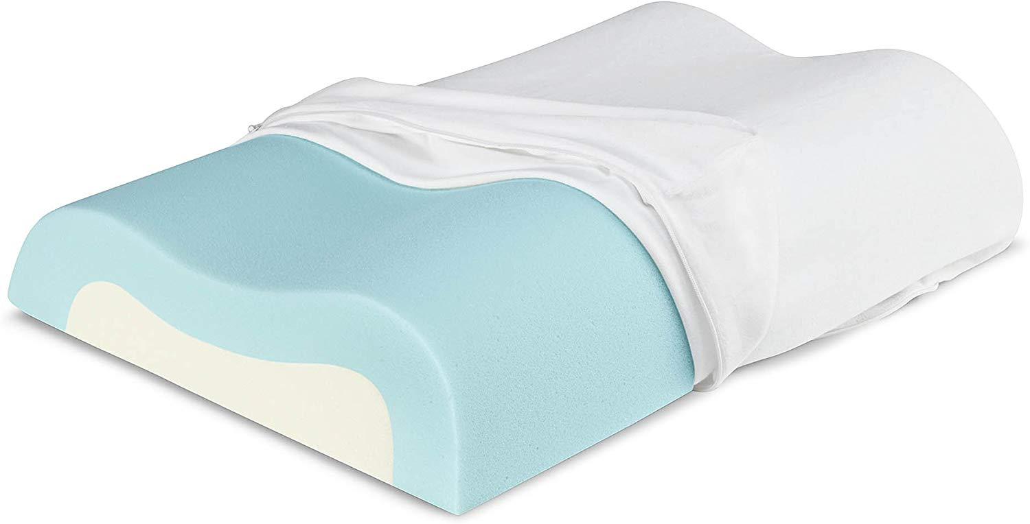 Sleep Innovations best pillows for back pain review by www.dailysleep.org