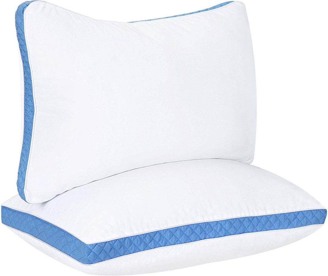 Utopia Bedding Best Hypoallergenic Pillows review by www.dailysleep.org