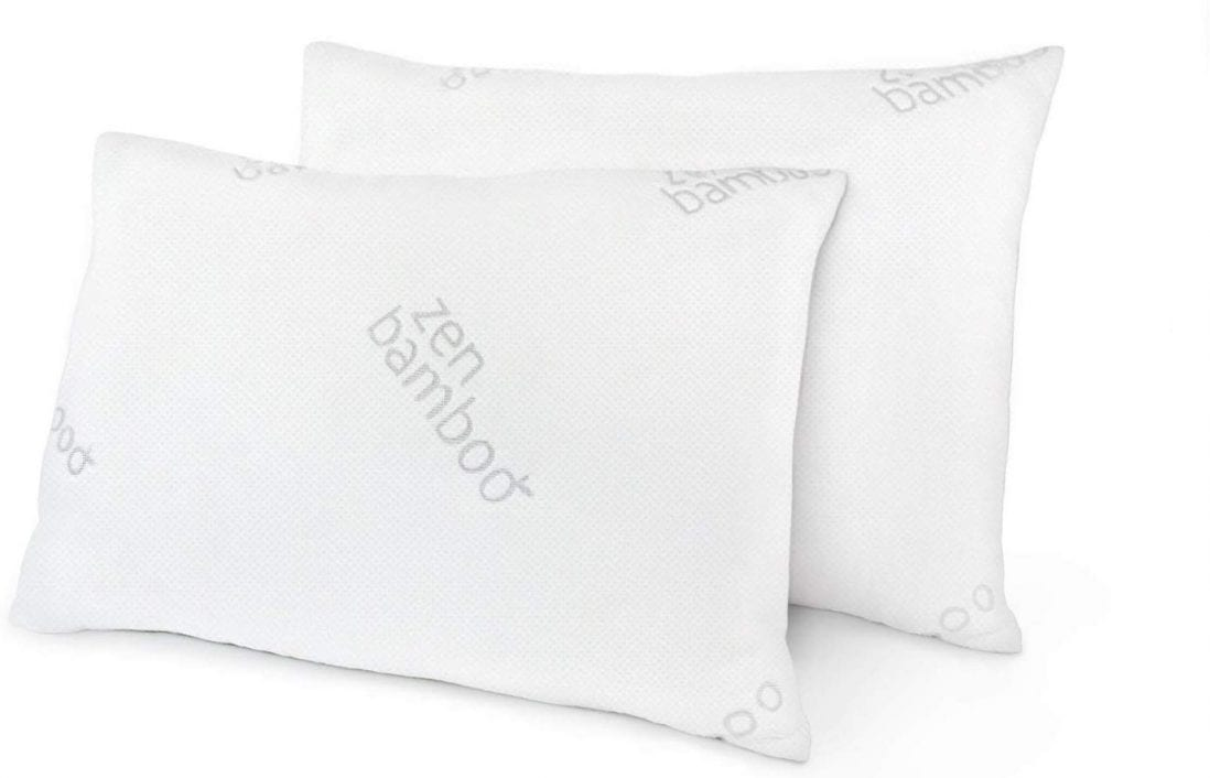 Zen Bamboo Best Hypoallergenic Pillows review by www.dailysleep.org