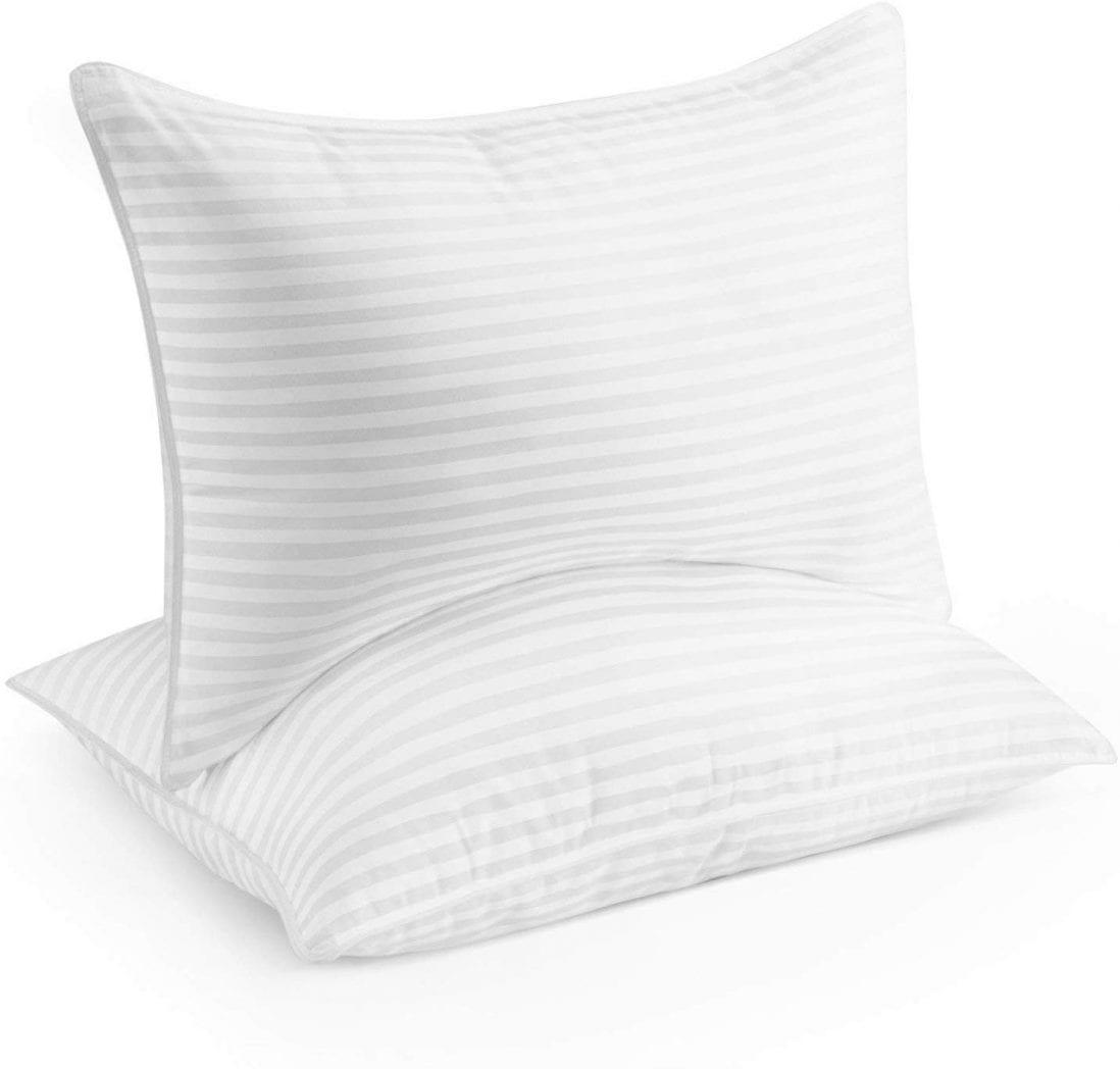Beckham Hotel Linens best down alternative pillow review by www.dailysleep.org