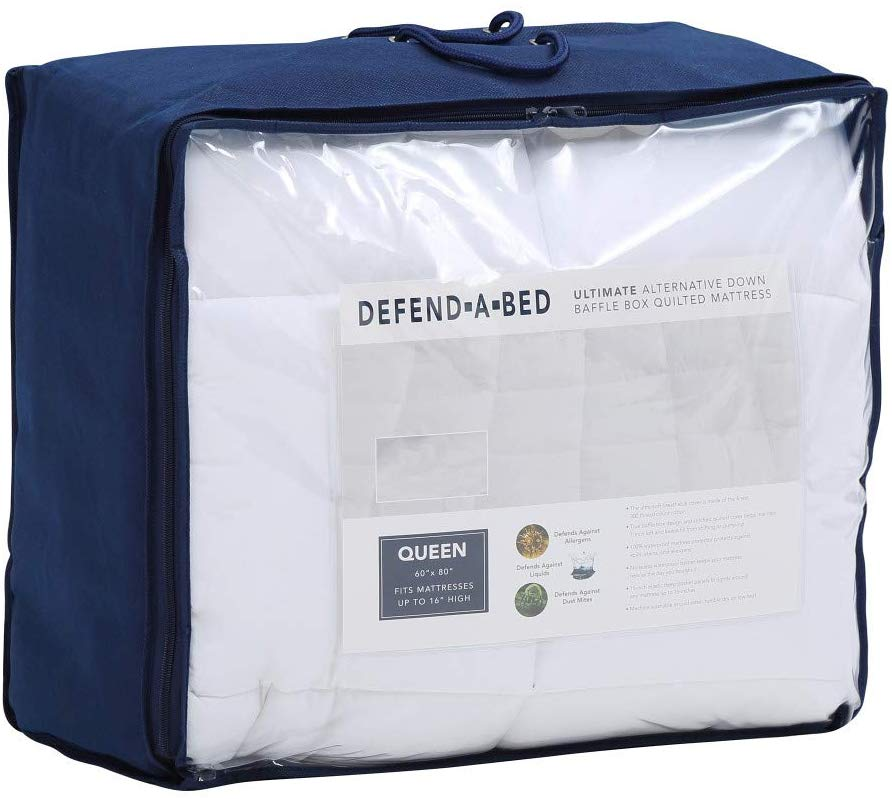 Classic Brands best waterproof mattress pad review by www.dailysleep.org