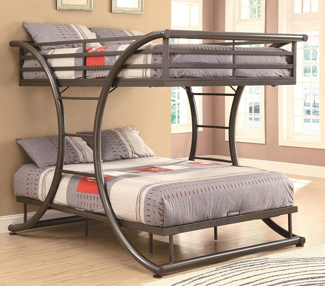 Coaster Home Furnishings The Best Bunk Bed For Adults review and buying guide by www.dailysleep.org