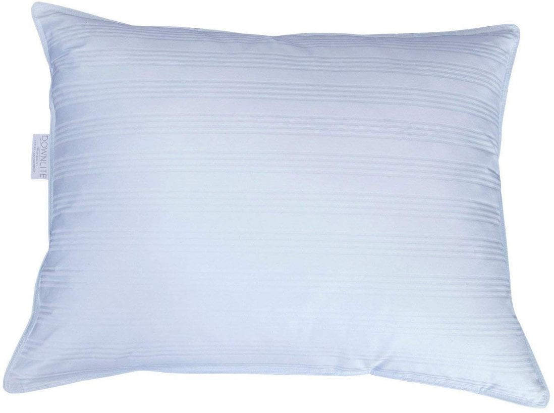 DOWNLITE best pillow for stomach sleepers review and buying guide by www.dailysleep.org