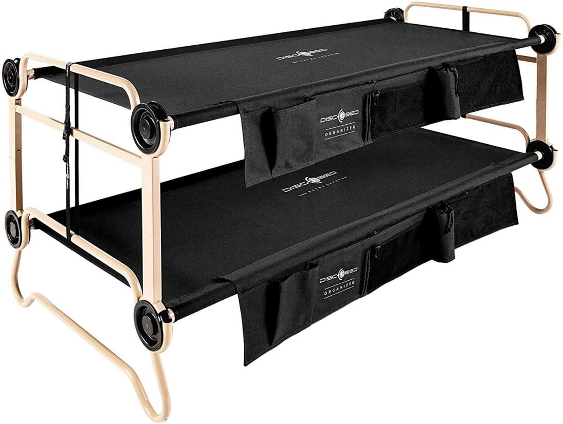 Disc-O-Bed The Best Bunk Bed For Camping review and buying guide by www.dailysleep.org