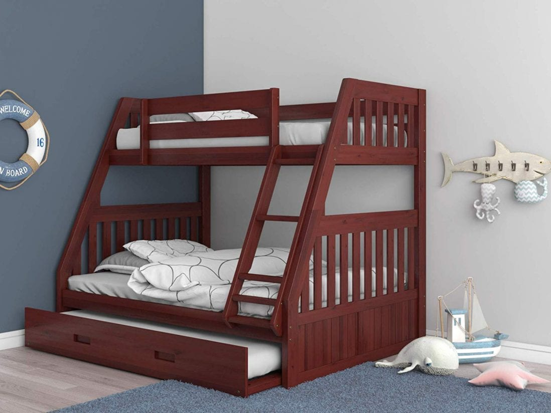 Discovery World Furniture the best bunk bed with a trundle review and buying guide by www.dailysleep.org