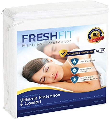FRESHFIT best waterproof mattress protector review by www.dailysleep.org