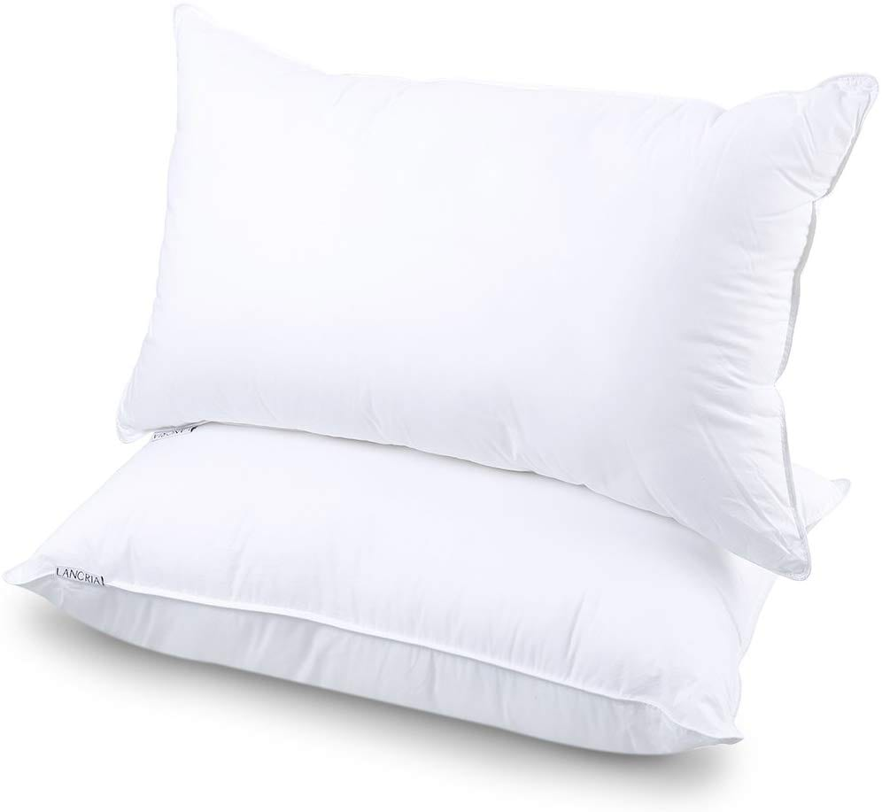LANGRIA best down alternative pillow review by www.dailysleep.org