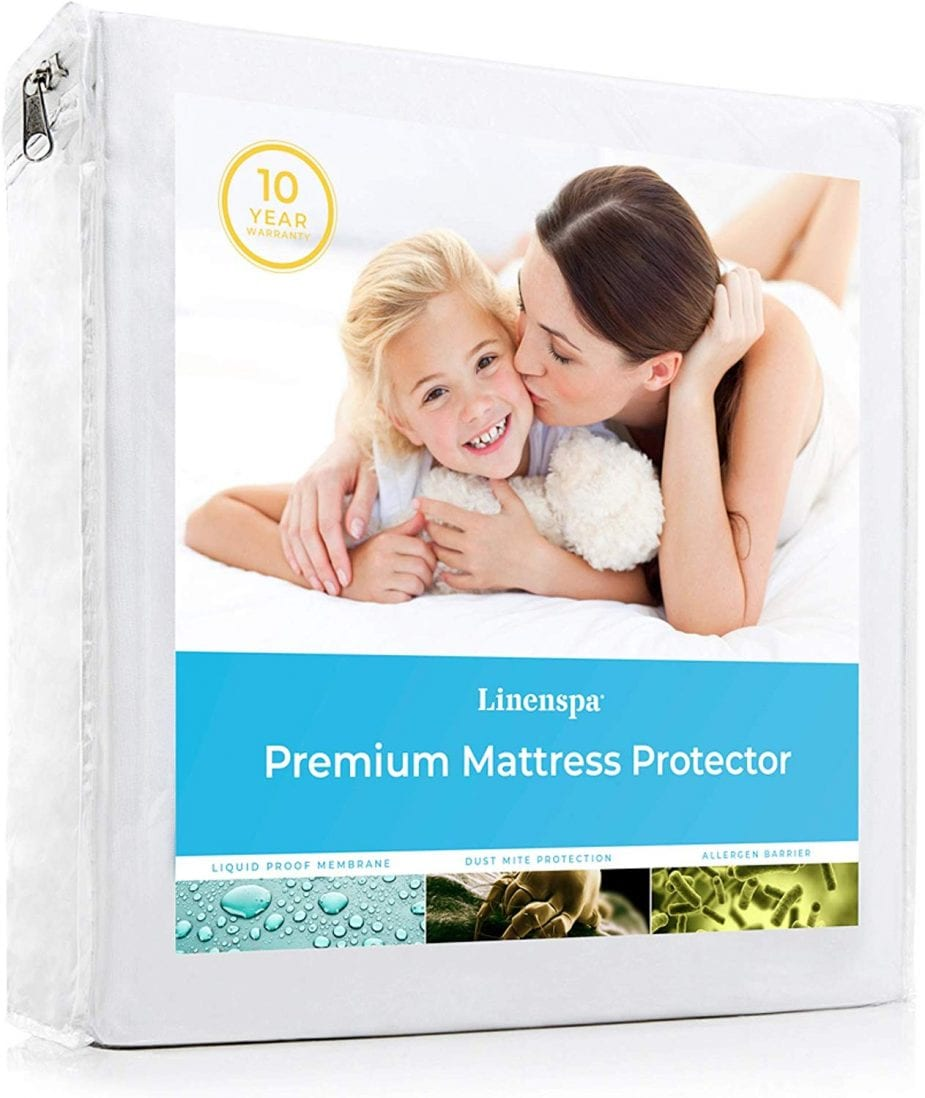 LINENSPA best mattress protector review by www.dailysleep.org