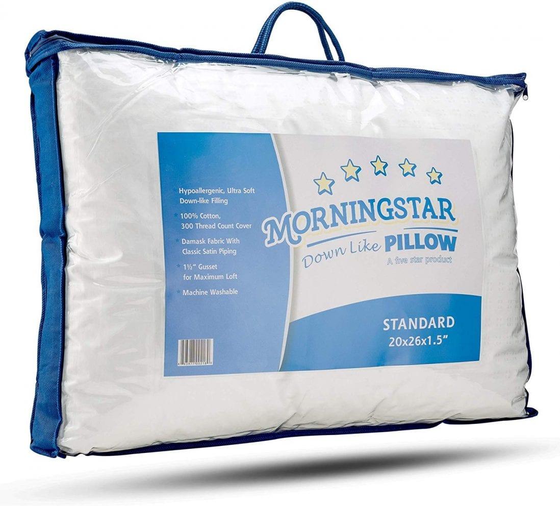 Mastertex best down alternative pillow review by www.dailysleep.org