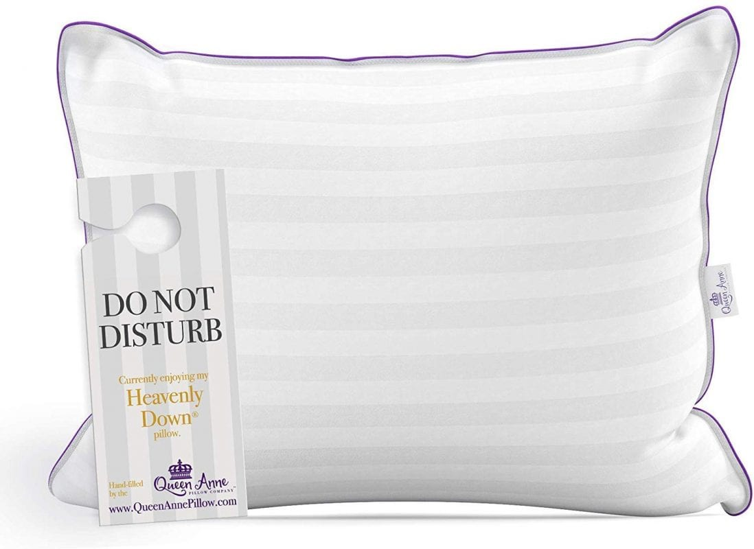 Queen Anne best down alternative pillow review by www.dailysleep.org