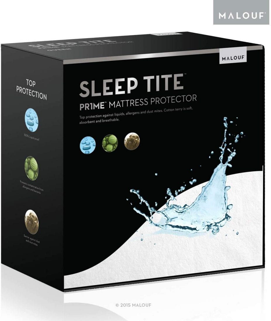 SLEEP TITE best waterproof mattress pad review by www.dailysleep.org