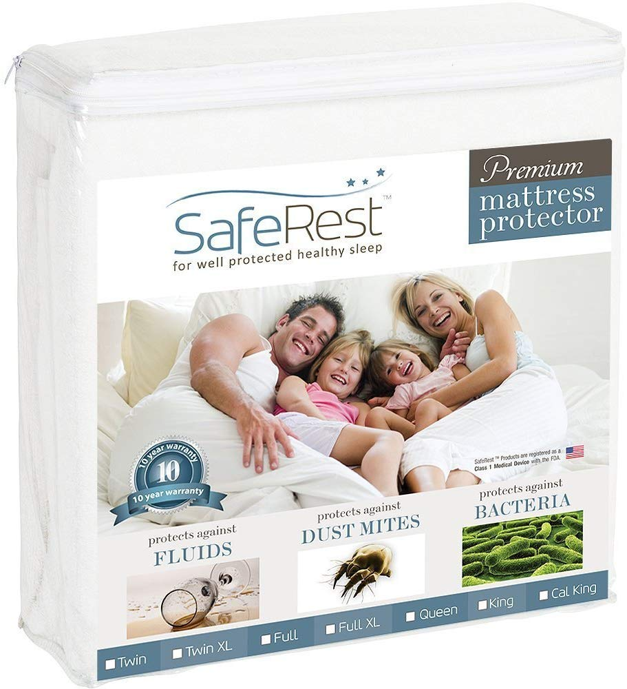 SafeRest best mattress protector review by www.dailysleep.org