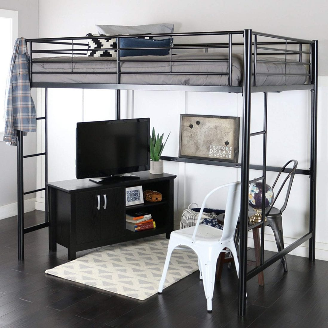 WE Furniture Best Bunk Bed for Dorm Rooms review and buying guide by www.dailysleep.org